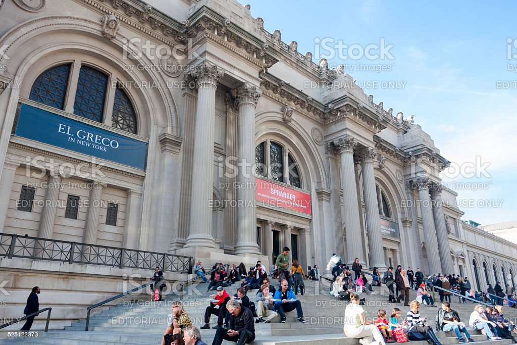 Metropolitan Museum of Art stock photo