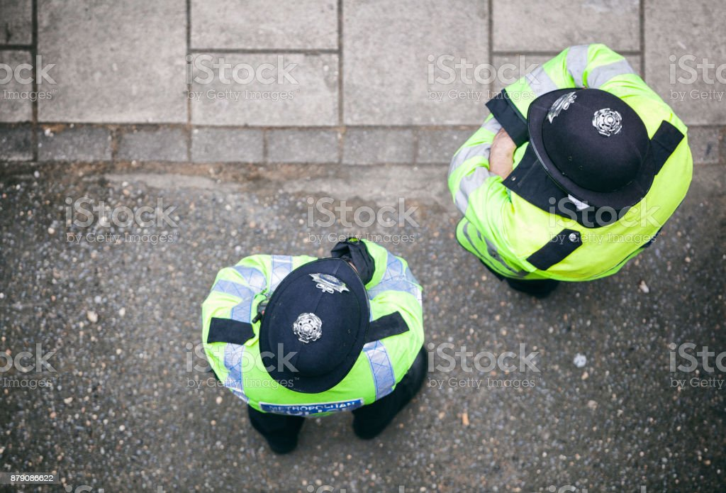 Metropolitan Police Offices In London stock photo