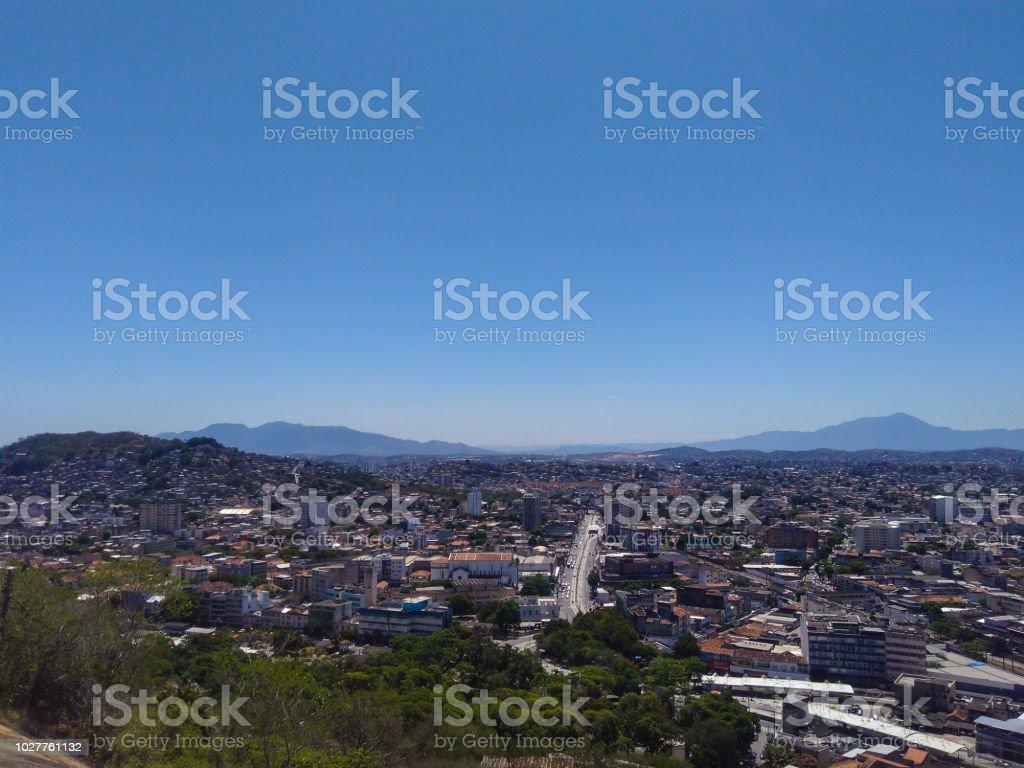 Metropolitan regions of Rio de Janeiro - Região metropolitana do Rio de Janeiro (Penha) stock photo