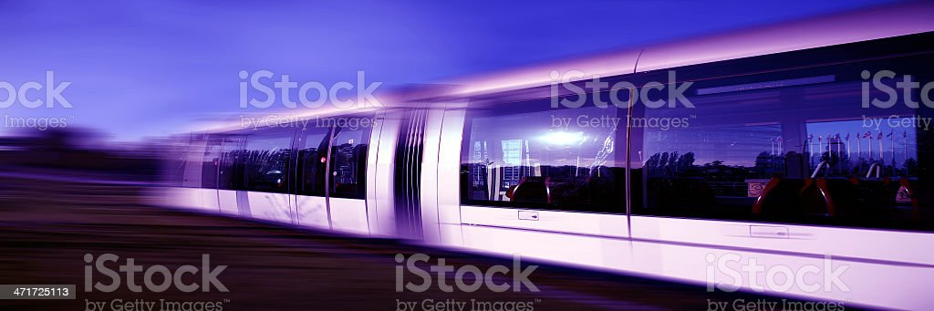 treno metropolitano royalty-free stock photo