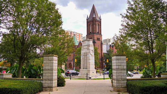 London, Ontario CANADA - Sep 19, 2021 : Metropolitan United Church