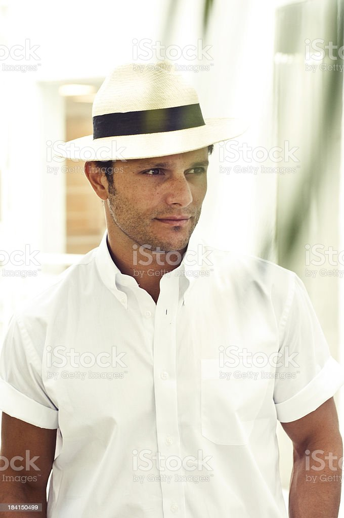 metrosexual macho stock photo