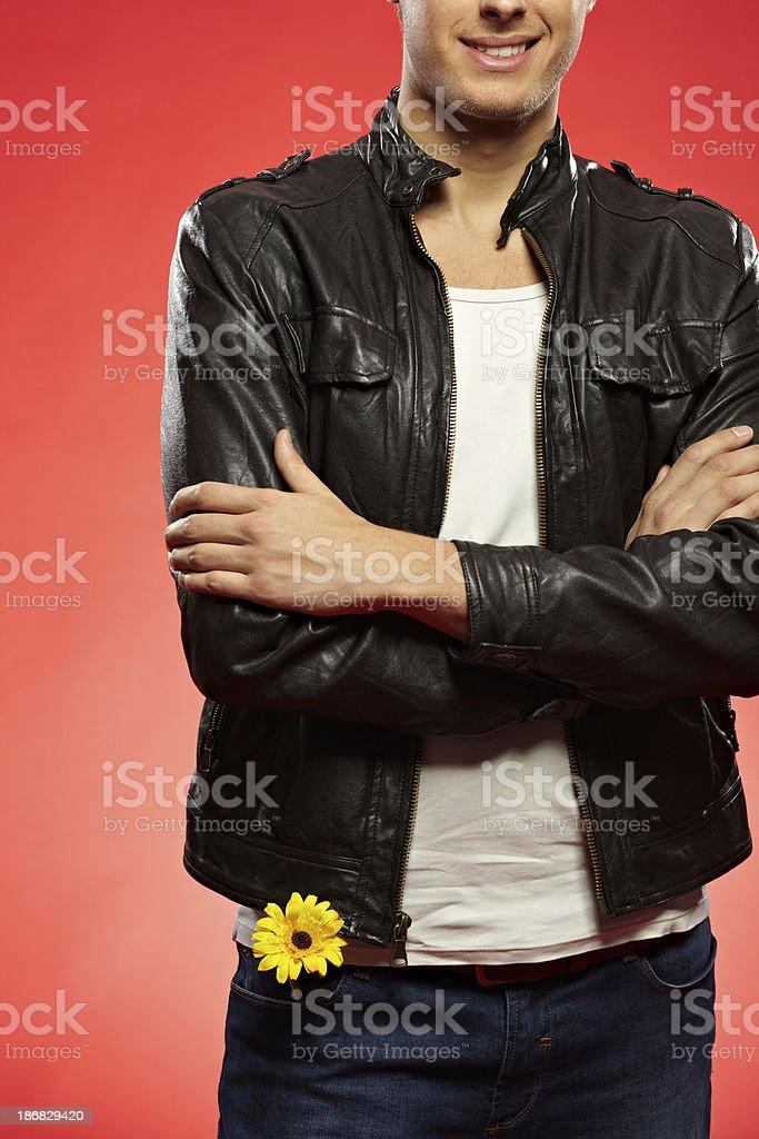 Metrosexual man royalty-free stock photo