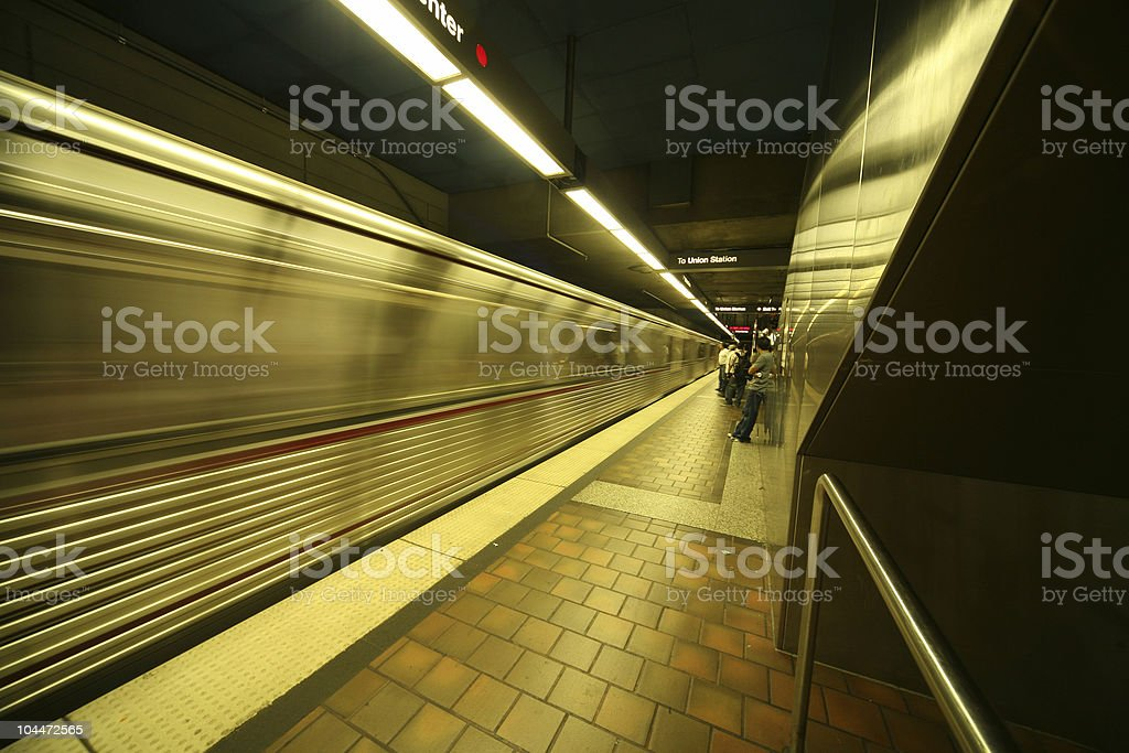 Metrotrain stock photo