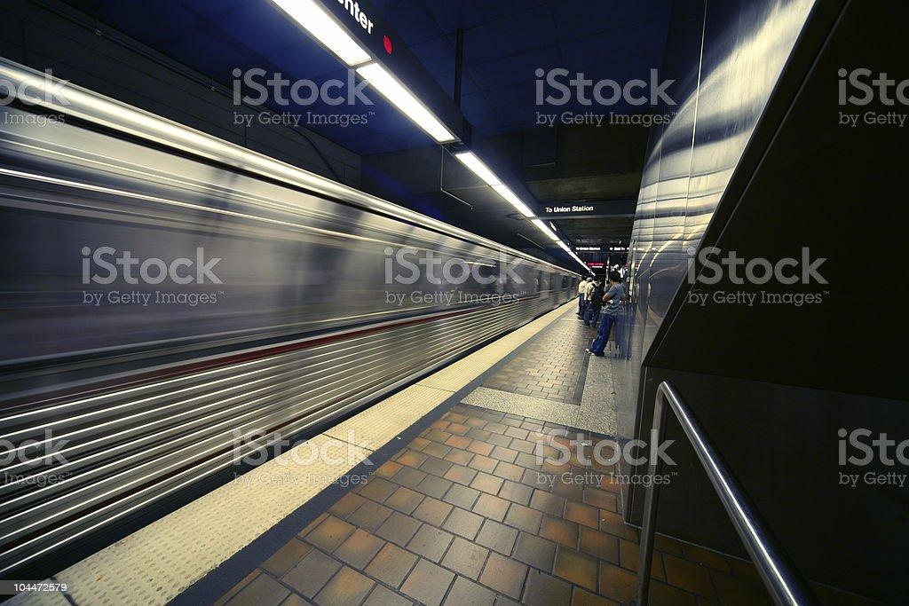 Metrotrain stock photo