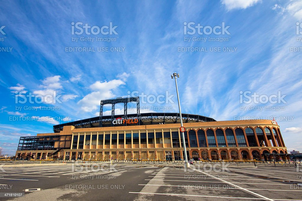 NY Mets Citi Field royalty-free stock photo