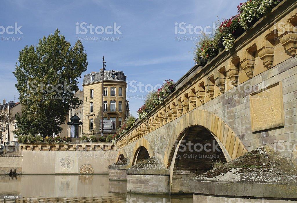 Metz Bridge zbiór zdjęć royalty-free