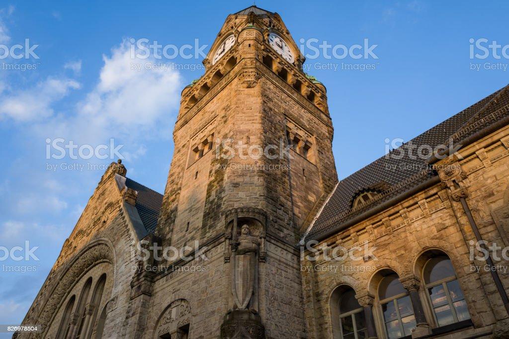 Metz Station stock photo