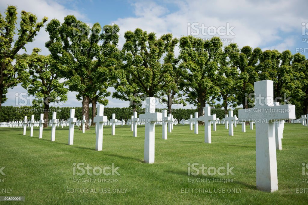 WWI Meuse-Argonne American Cemetery in France – zdjęcie