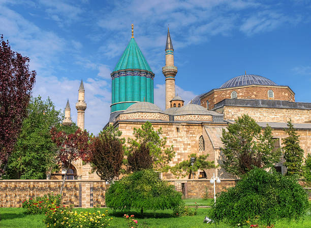 mevlana - selimiye moschee stock-fotos und bilder