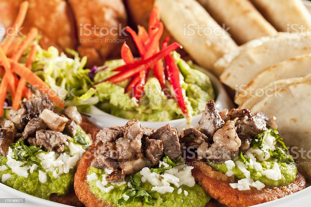 Antojitos mexicana - foto de stock