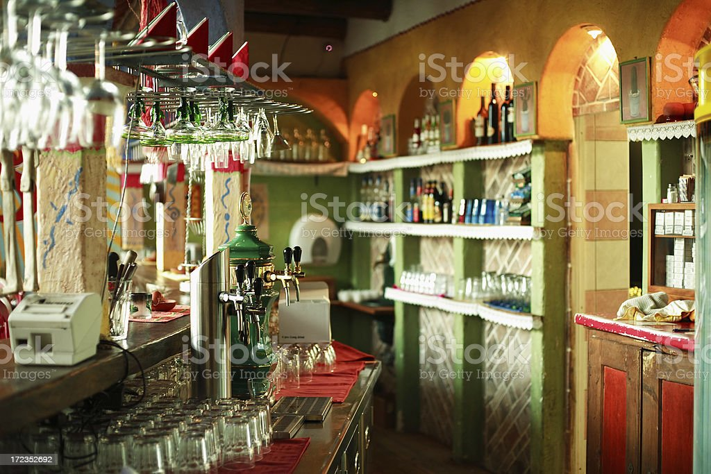 Mexican bar Imperio Mexicano royalty-free stock photo