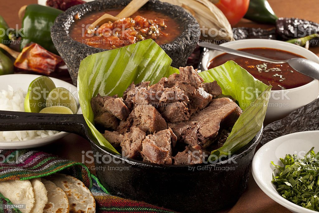 Mexican Barbecue stock photo