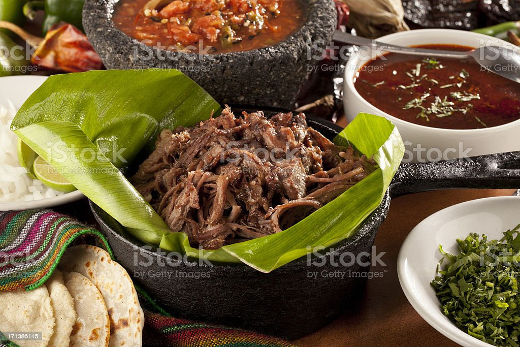 Barbacoa mexicana - foto de stock