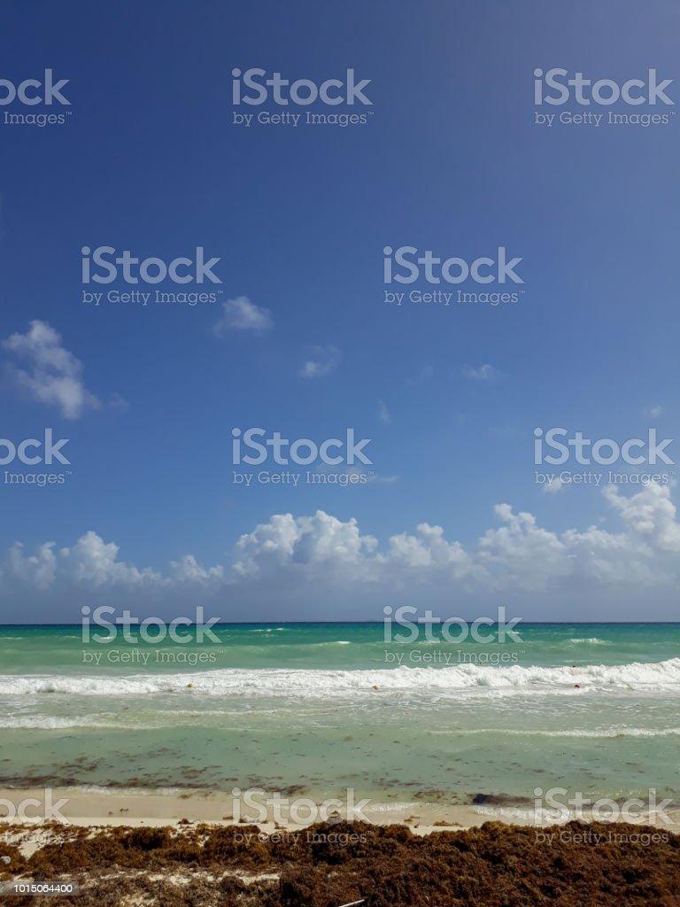 Playa mexicana - foto de stock