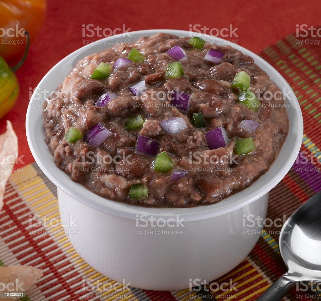 Mexican Beans stock photo