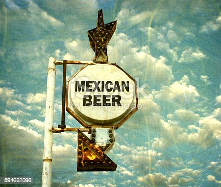 508216406 istock photo mexican beer sign 894662096