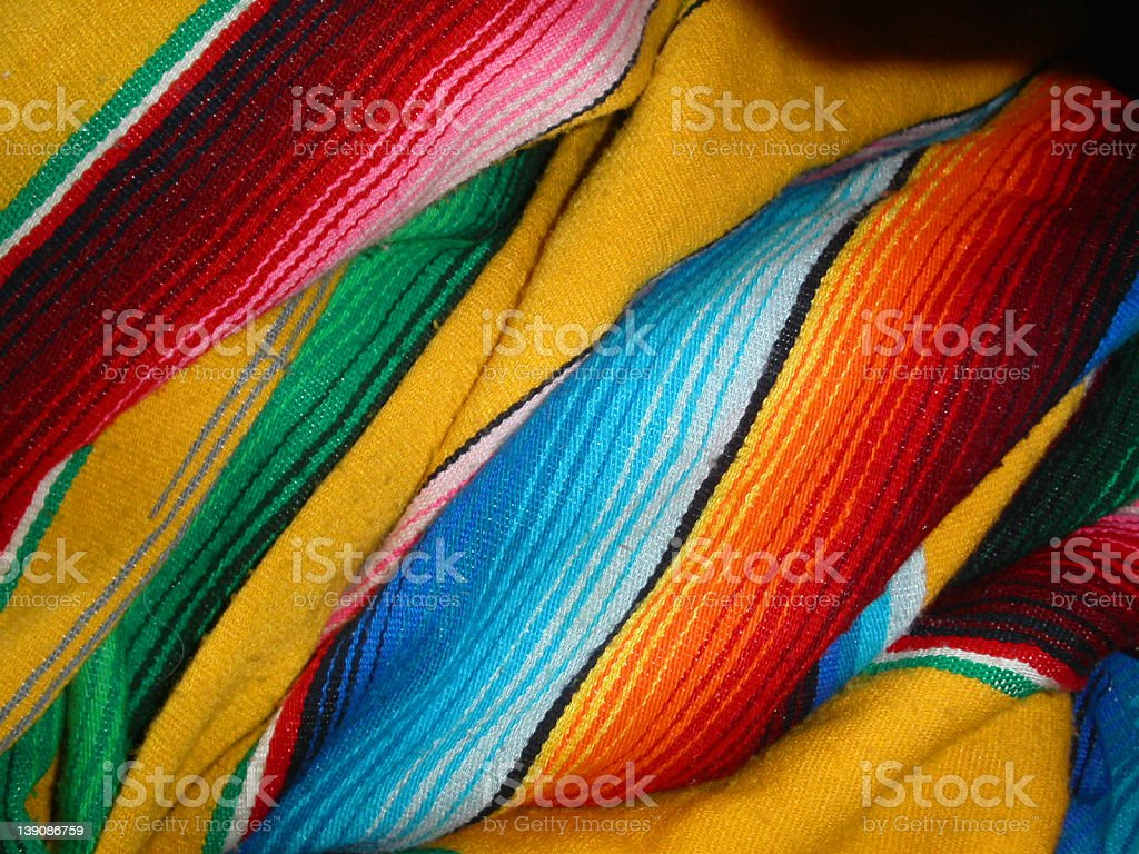 Mexican Blanket #2 stock photo