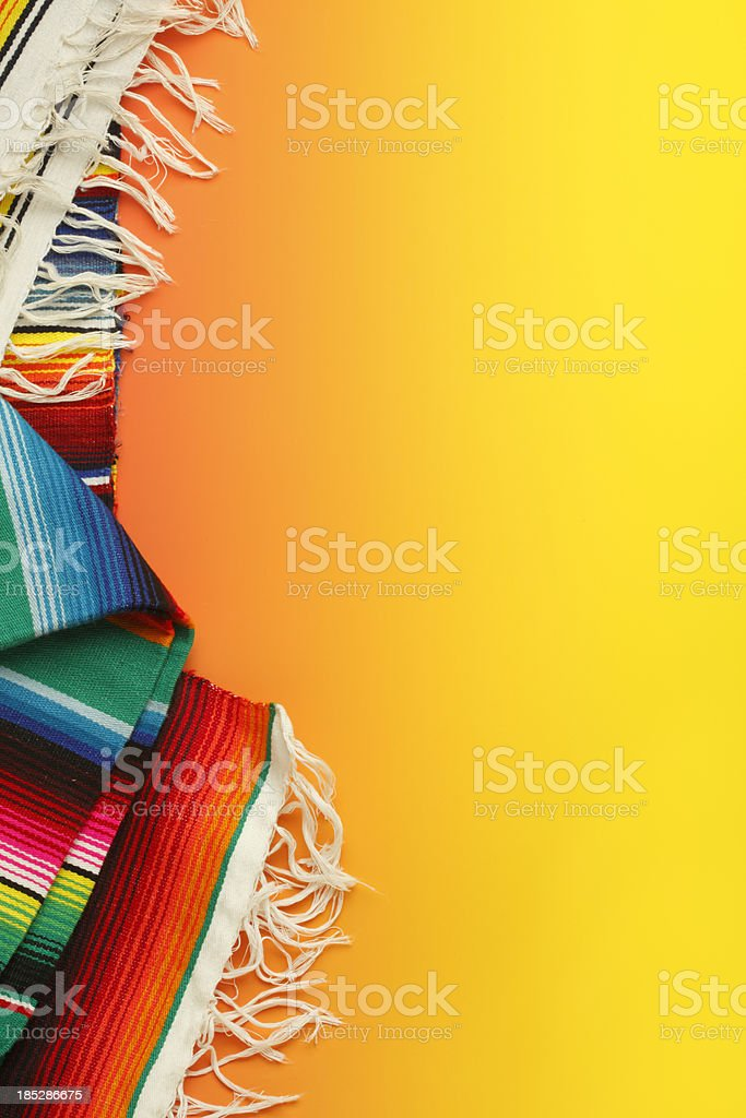 Mexican Blanket stock photo