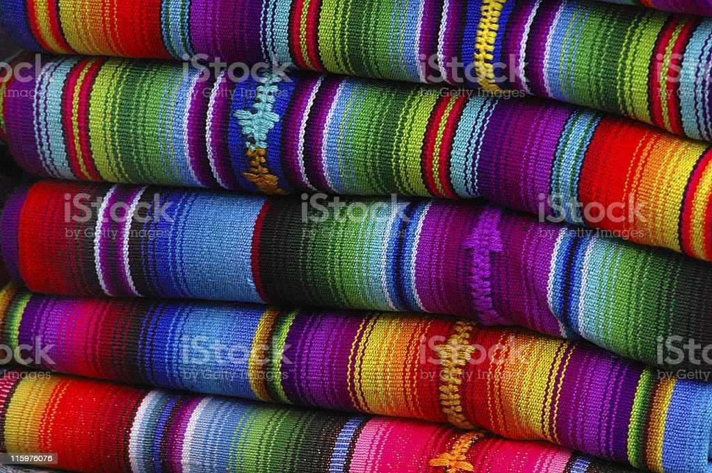 Mexican Blankets stock photo
