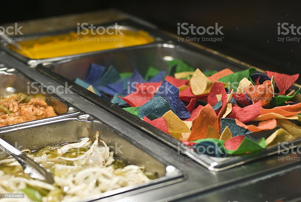 Mexican Buffet royalty-free stock photo