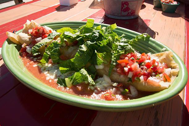 Mexican burrito food stock photo