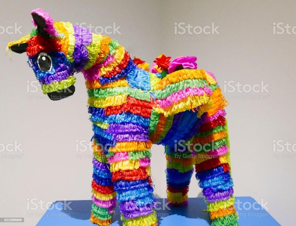Mexican Burro Pinata stock photo