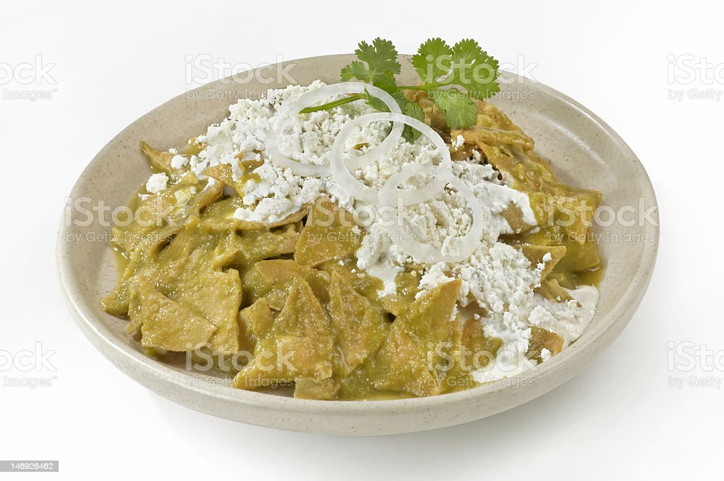 Mexican Chilaquiles stock photo
