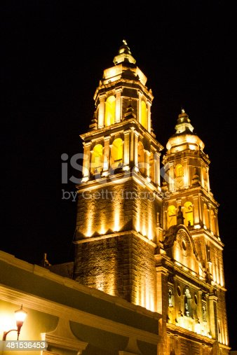 views of the catholic mexican Places of worship.