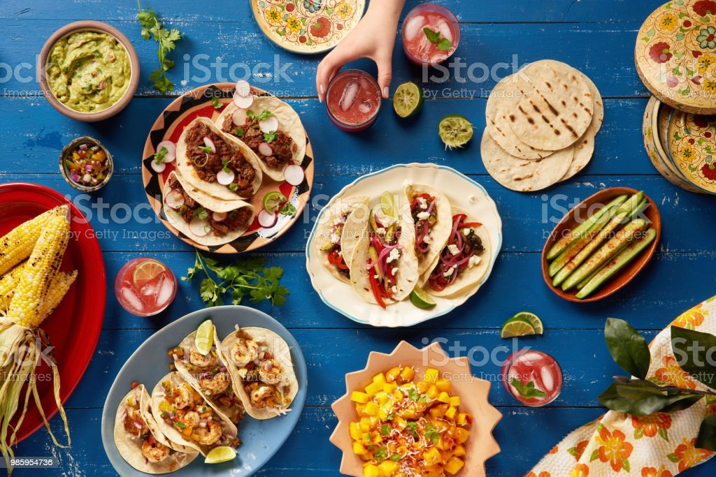 Mexican Cinco de Mayo Feast stock photo
