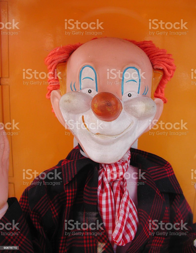 Mexican Clown royalty-free stock photo