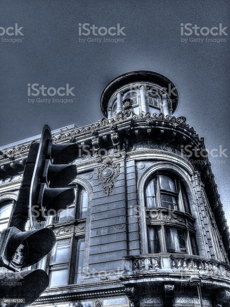 Arquitectura Colonial Mexicana royalty-free stock photo