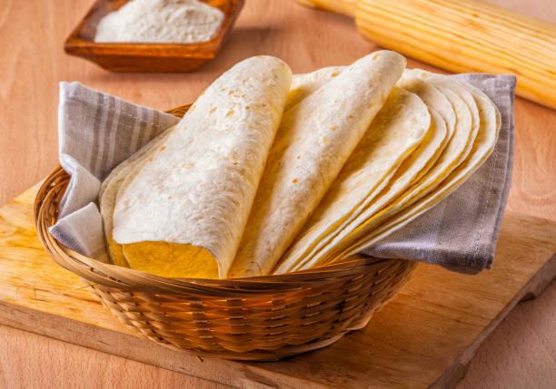 mexican corn tortillas - tortilla stock photos and pictures