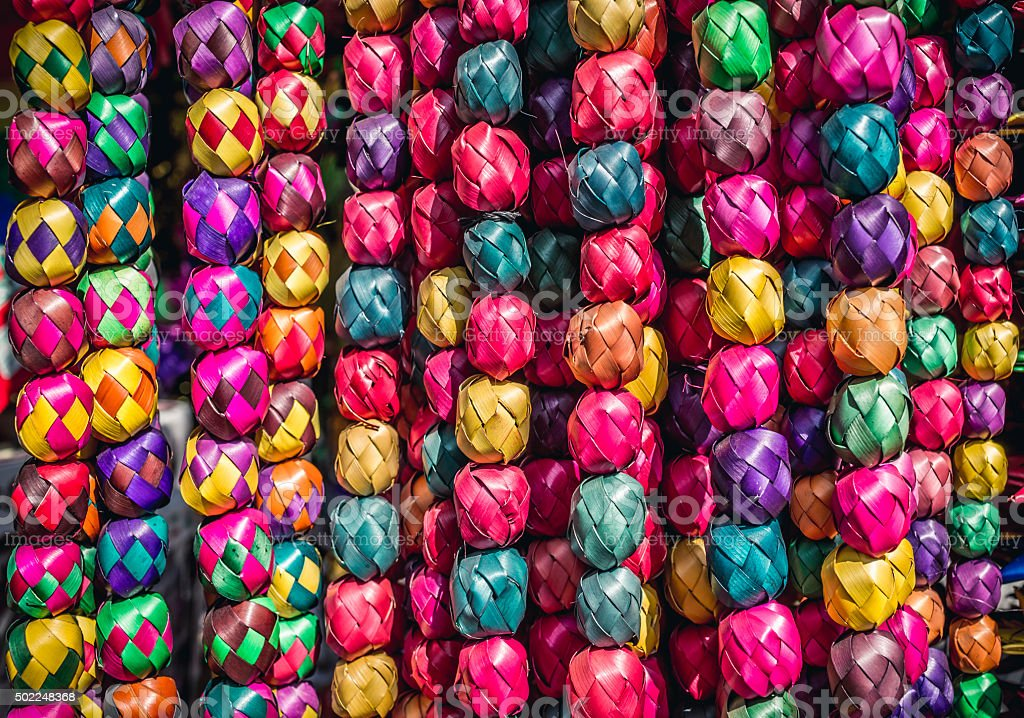 Mexican Crafts Texture stock photo
