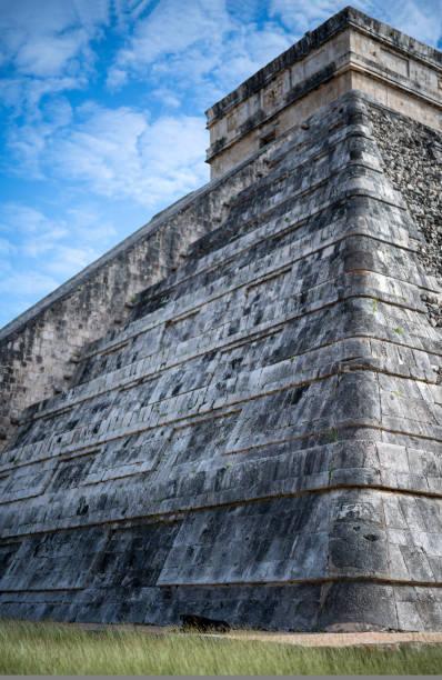 Mexican culture.Historical landmark Pyramid1 stock photo