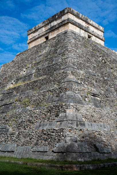 Mexican culture.Historical landmark.Pyramid 4 stock photo