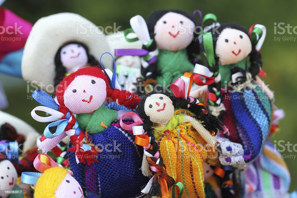 MExican doll royalty-free stock photo