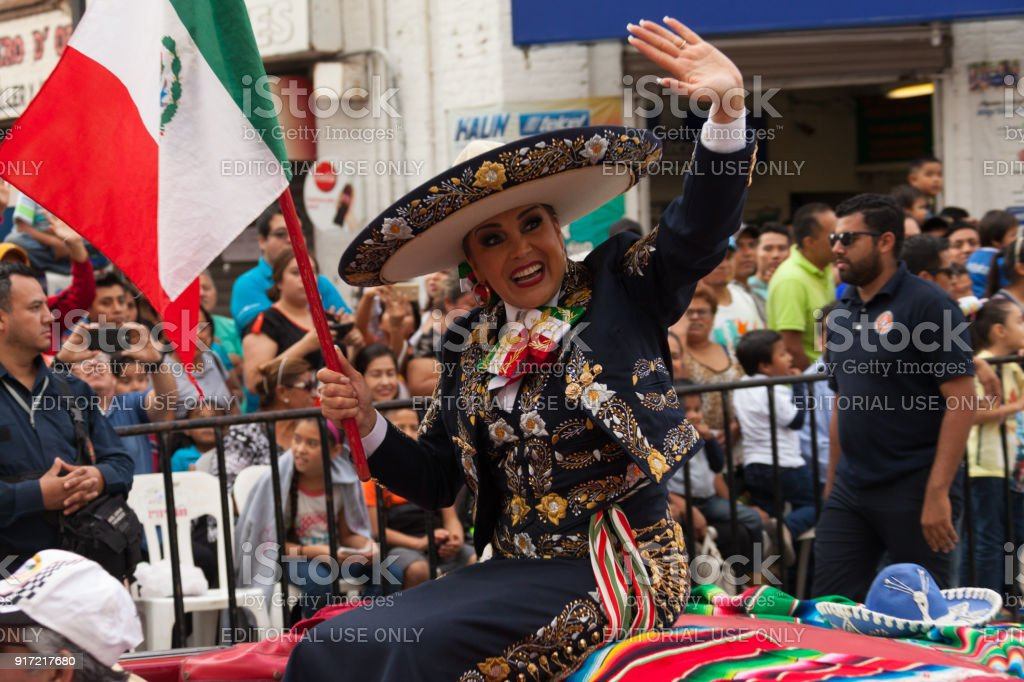 mexican festival parade stock photo more pictures of art istock