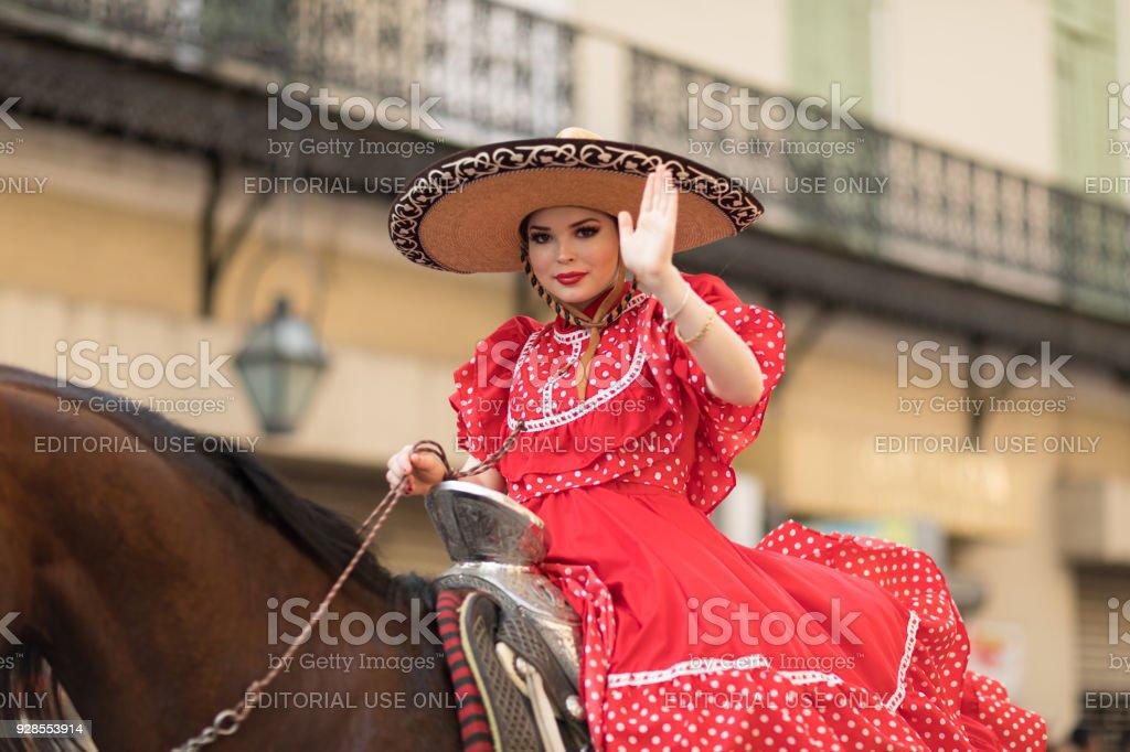 Mexican Festival Parade stock photo