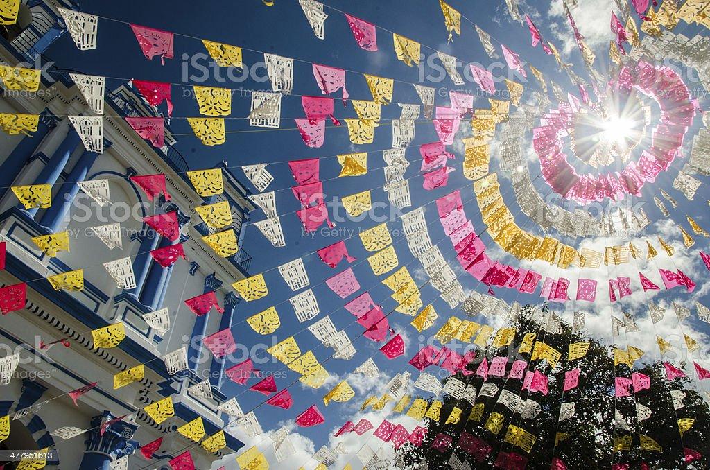 festons mexicana - foto de acervo