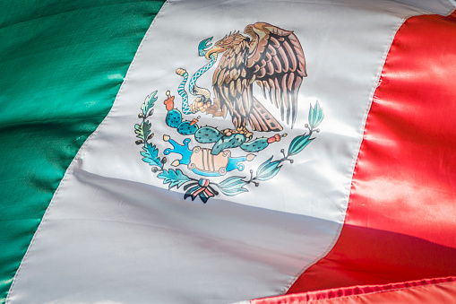 Mexican Flag, National Banner of Mexico