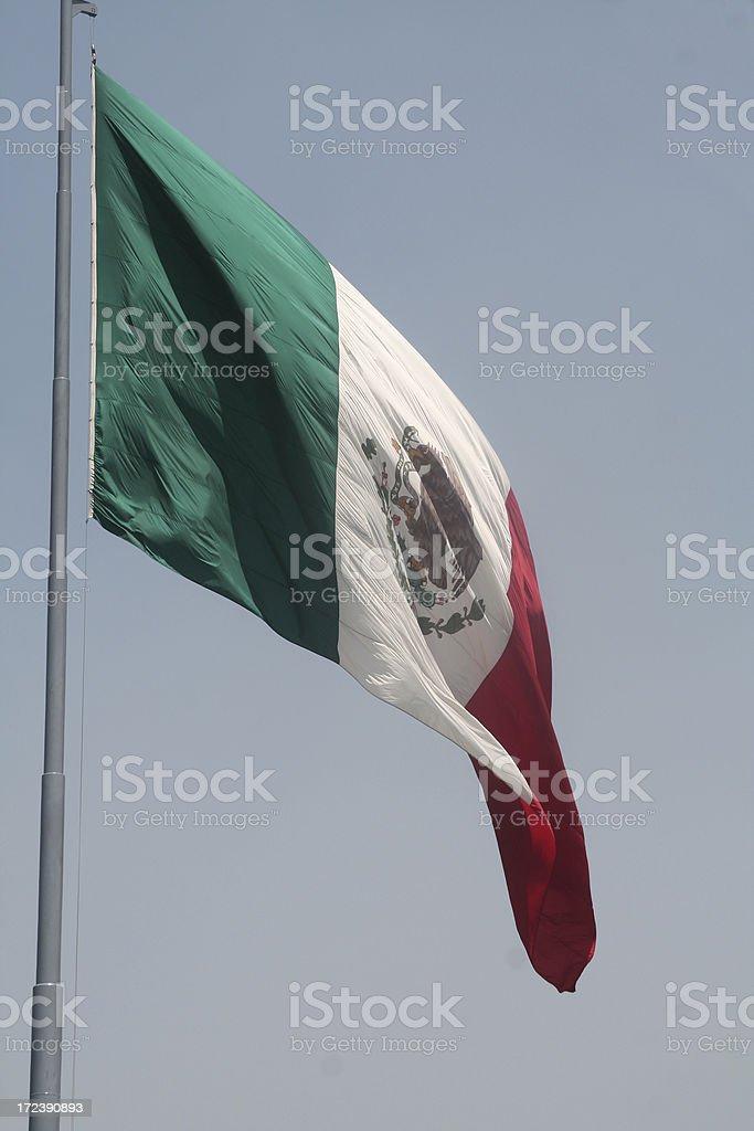 bandera mexicana royalty-free stock photo