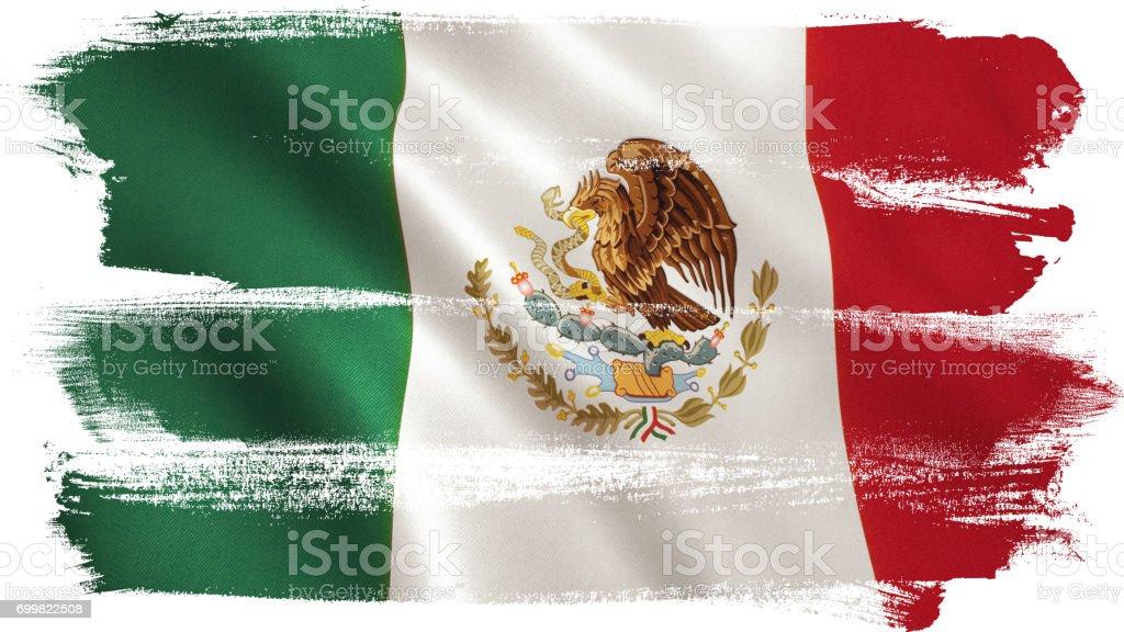 Bandera mexicana  - foto de stock