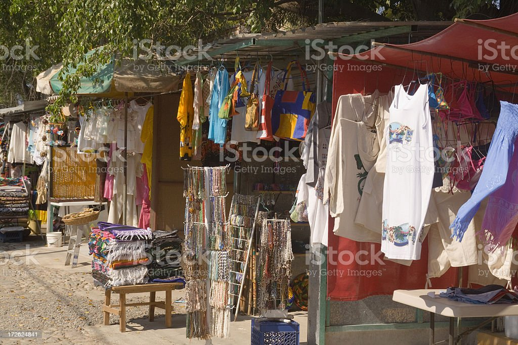 Mexican Flea Market royalty-free stock photo
