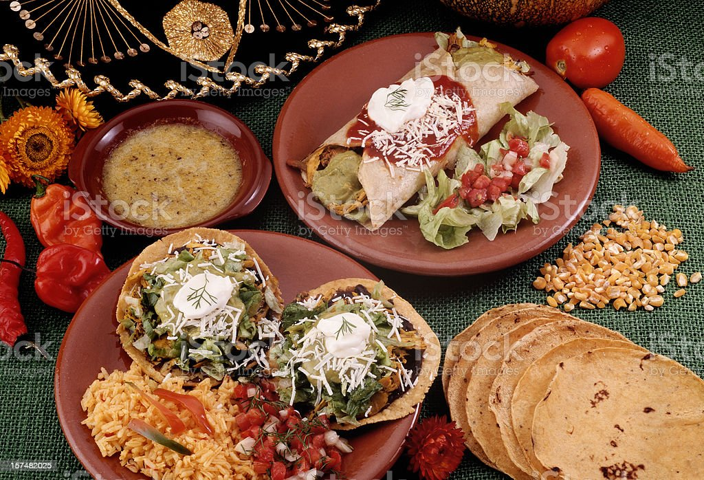 Mexican Food 01 royalty-free stock photo