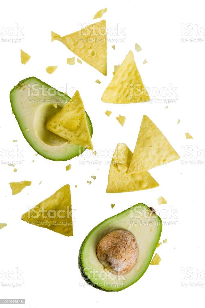 墨西哥食品的概念 - 免版稅不健康飲食圖庫照片