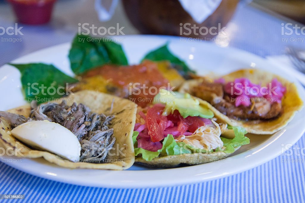 Mexican food of Yucatan stock photo