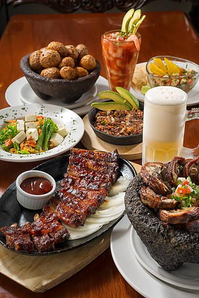 Comida mexicana - foto de stock
