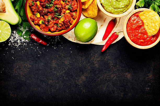 mexican food - mexican food stock photos and pictures
