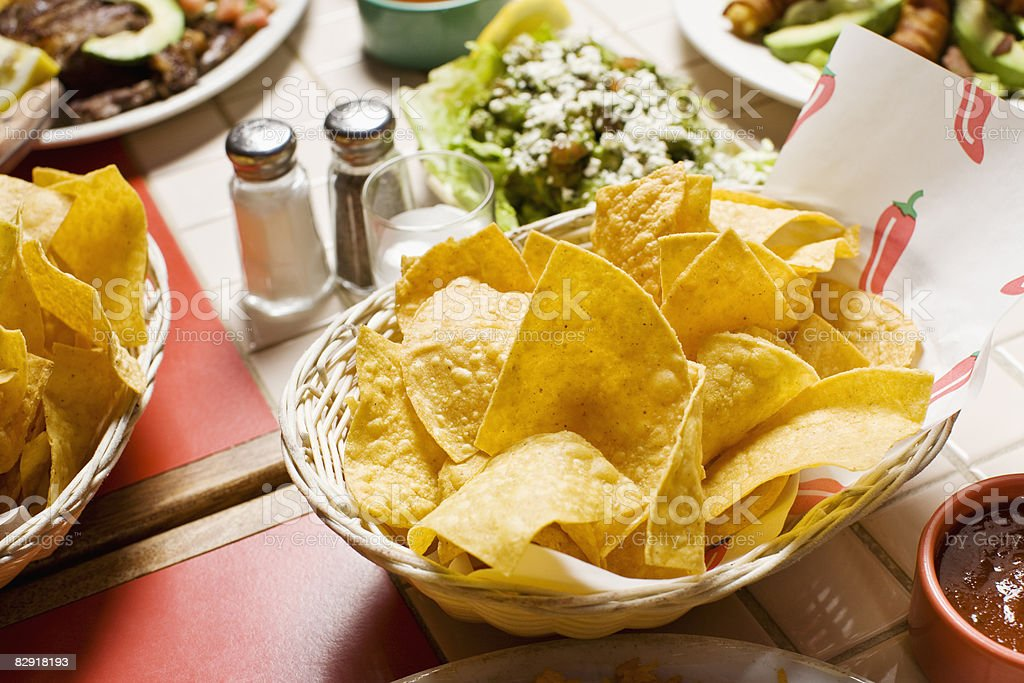 mexican food royalty free stockfoto
